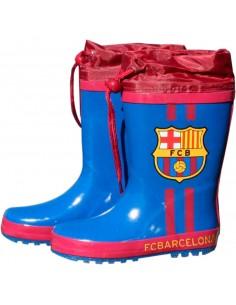 Botas agua azules cierre ajustable FC Barcelona