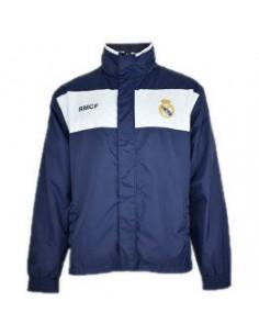 Impermeable Real Madrid capucha adulto