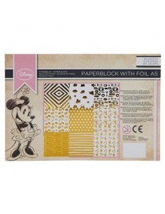 Papel aluminio A5 Minnie Disney