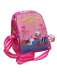 Bolsa portameriendas Peppa Pig Pool Party isotermica