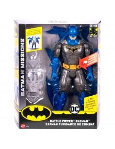 Figura Batman Superarmadura Night Missions DC Comics 30cm