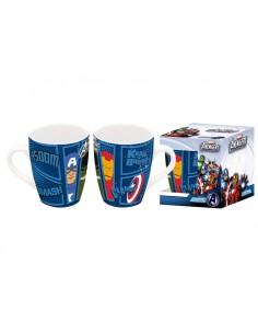 Taza ceramica Vengadores Avengers Marvel barrilete