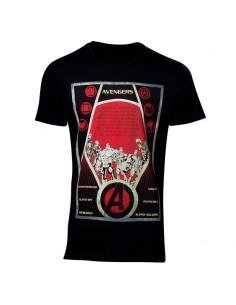 Camiseta Equipo Vengadores Marvel