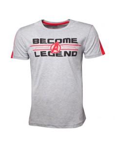 Camiseta Become A Legend Vengadores Marvel