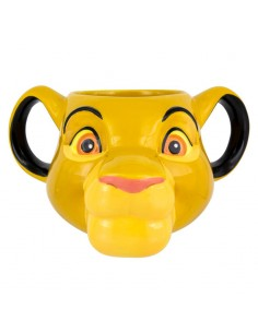 Taza 3D Disney El Rey Leon Simba