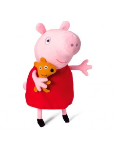 Peluche Peppa Pig con voz 31cm