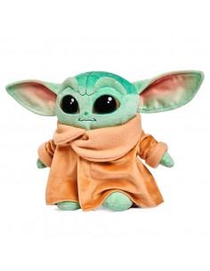 Peluche Baby Yoda Child Mandalorian Star Wars soft 25cm