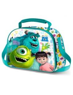 Bolsa portameriendas 3D Monstruos SA Disney Pixar