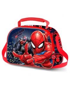 Bolsa portameriendas 3D Spiderman Marvel