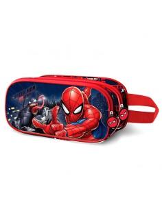 Portatodo 3D Spiderman Marvel doble