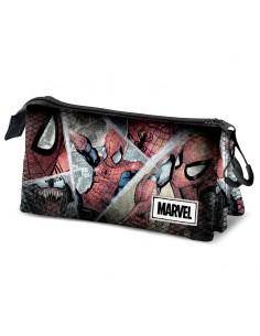 Portatodo Comic Spiderman Marvel triple