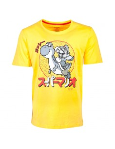 Camiseta Mario and Yoshi Super Mario Nintendo