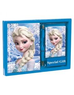 Set diario listin Frozen Disney Heart