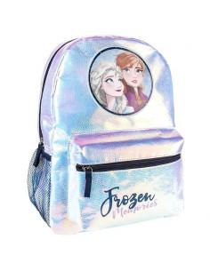 Mochila Elsa 38 Anna Frozen 2 Disney 36cm