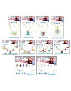 Pack 6 blister bisuteria Frozen 2 Disney surtido