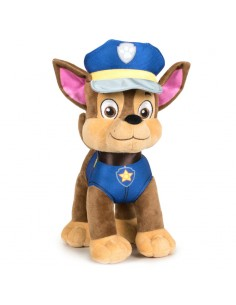 Peluche Chase Patrulla Canina Paw Patrol 37cm