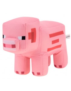 Peluche Cerdo Minecraft 27cm