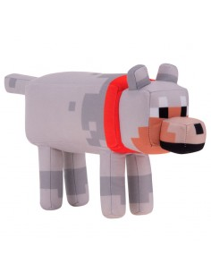 Peluche Lobo Minecraft 29cm