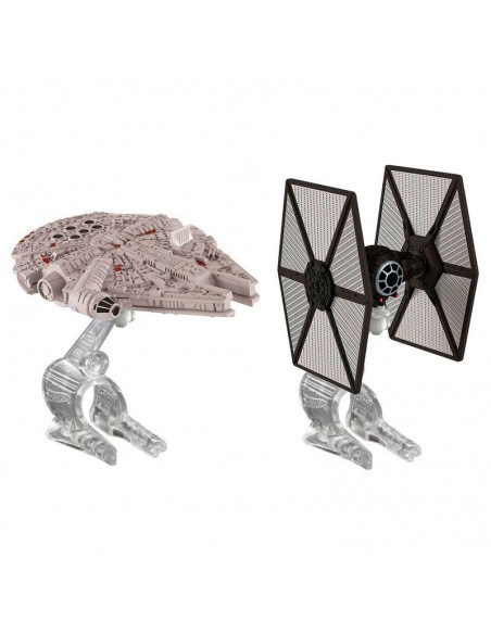 Blister Caza TIE Halcon Milenario Star Wars Hot Wheels