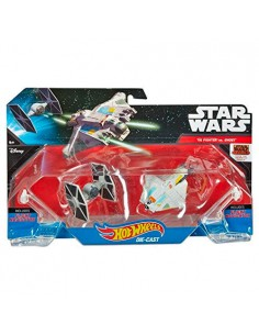Blister The Fighter vs Ghost Star Wars Hot Wheels
