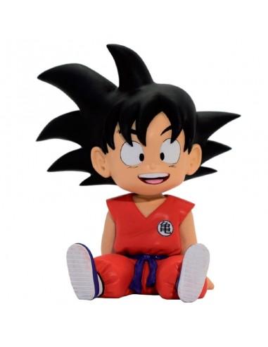 Figura hucha Chibi Son Goku Dragon Ball 16cm
