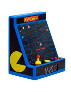 Lampara despertador Led Maquina Recreativa Pac Man