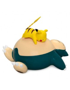 Lampara Led Touch Sensor Snorlax y Pikachu Pokemon