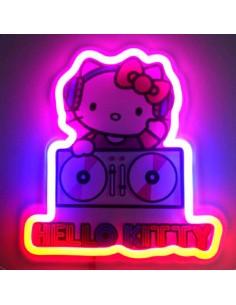 Lampara mural neon Neon Hello Kitty