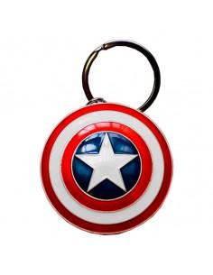 Llavero metal Escudo Capitan America Marvel