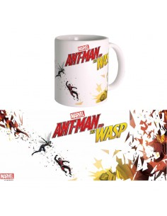 Taza Tiny Heroes Ant Man and The Wasp Marvel