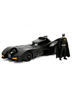 Set figura coche metal Batmovil 1989 DC Comics