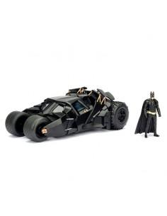 Set figura coche metal Batmovil 2008 El Caballero Oscuro Batman DC Comics