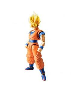 Figura Super Saiyan Goku New Version Model Kit Rise Standard Dragon Ball Z 16cm