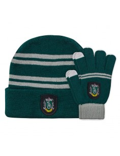 Set gorro guantes Slytherin Harry Potter infantil