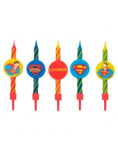 Blister 10 velas Superman DC Comics