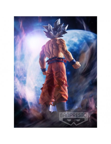 Figura Son Goku Ultra Instinct Dragon Ball Super 19cm