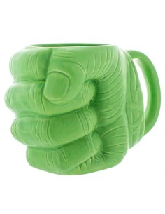 Taza 3D Puno Hulk Vengadores Avengers Marvel