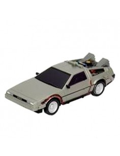 Coche radiocontrol Time Machine Regreso al Futuro 13cm