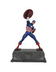 Estatua resina Capitan America Marvel 30cm