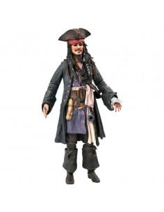 Figura Jack Sparrow Piratas del Caribe Disney 18cm