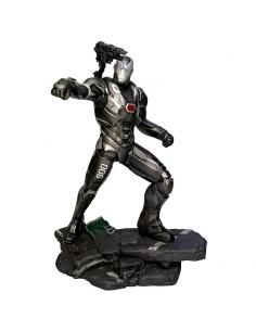 Estatua diorama War Machine Vengadores Endgame Marvel 23cm