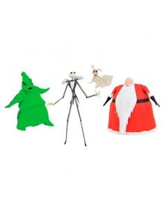 Set 3 figuras Pesadilla Antes de Navidad Disney SDCC 2020 Exclusive