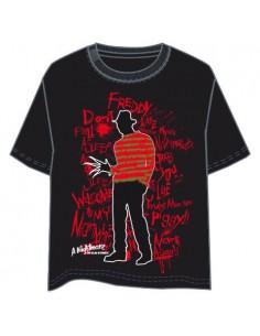 Camiseta Pesadilla en Elm Street adulto