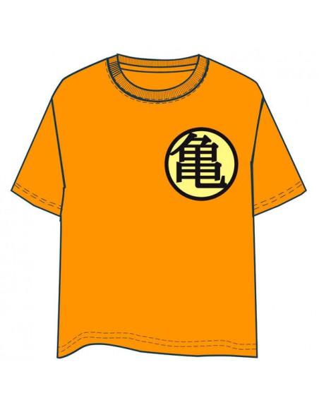 Camiseta Dragon Ball naranja infantil