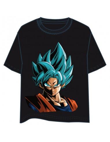 Camiseta Son Goku Super Saiyan Blue Dragon Ball infantil