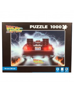 Puzzle Delorean Out a Time Regreso al Futuro 1000pzs