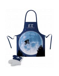 Delantal con guantes ET