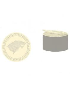 Postick logo Stark Juego de Tronos