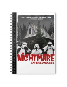 Cuaderno A5 Nightmare in the Forest Original Stormtrooper