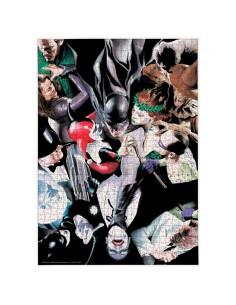 Puzzle Batman Enemigos DC Comics 1000pzs